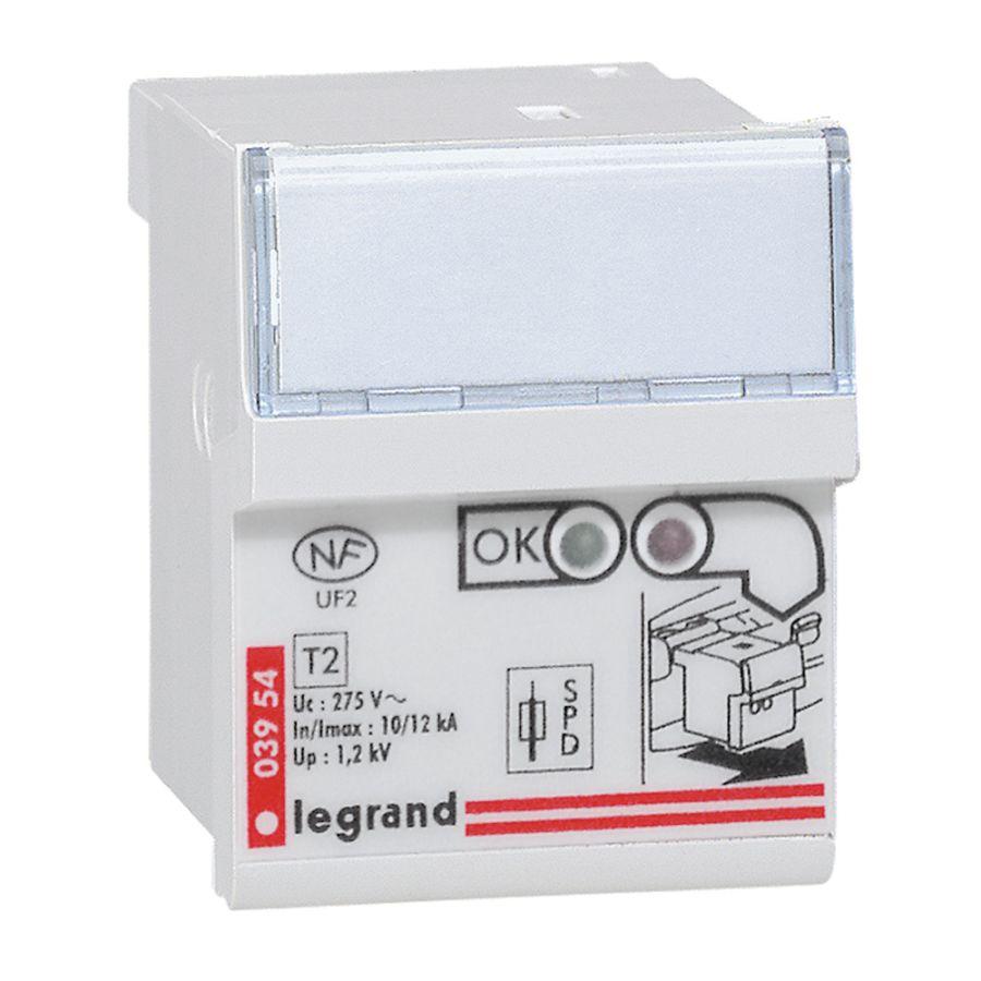 Cassette de remplacement pour parafoudre réferences 003951 et 003953 legrand