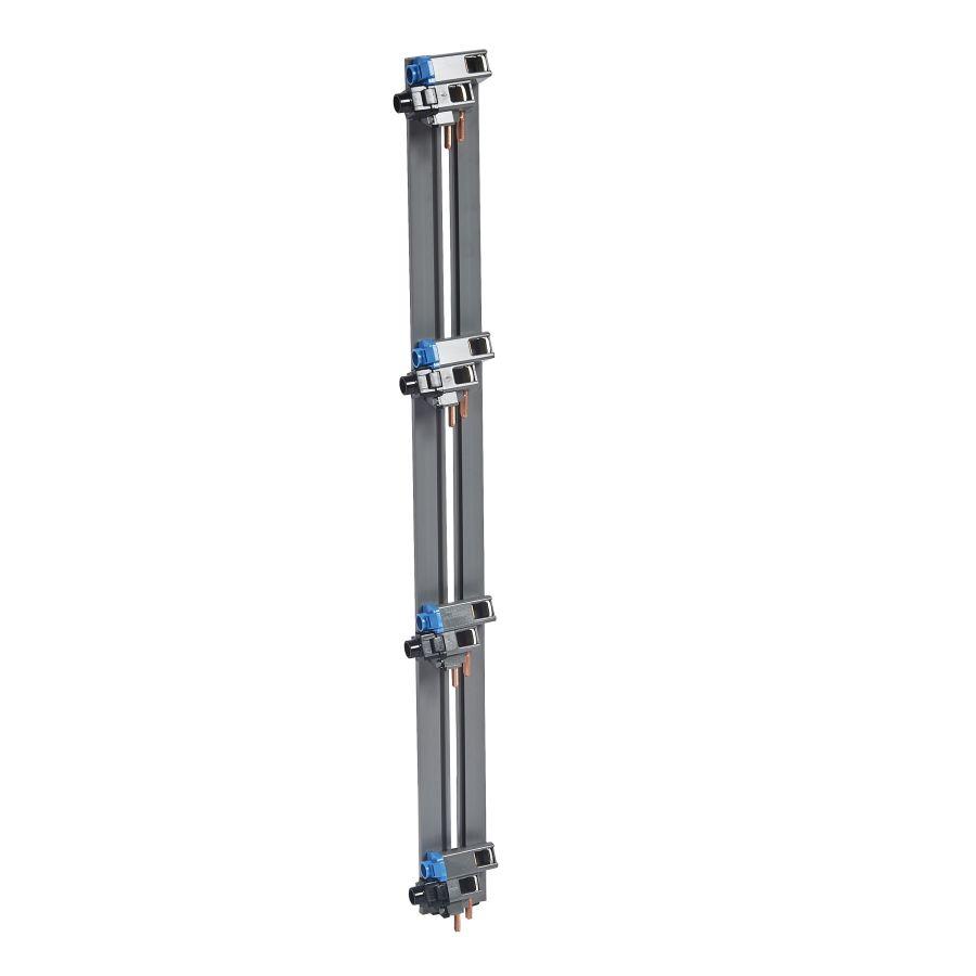 Peigne vertical VX³ - entraxe 125mm - pour coffret 4 rangées legrand 405002