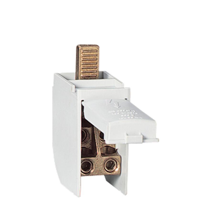 Répartiteur associable 1P 125A 16 connexions max par barreau - 2 modules DIN legrand 004871