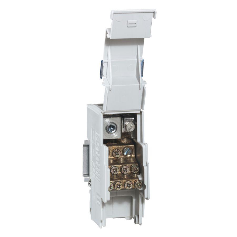 Répartiteur associable 1P 160A 13 connexions max par barreau - 2 modules DIN legrand 004883