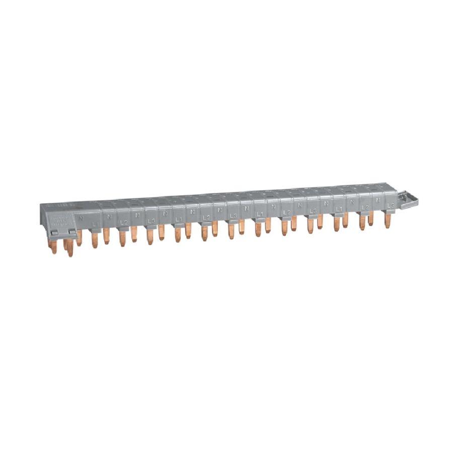 Peigne d\'alimentation 4P tête de groupe HX³ horizontal optimisé - 12 modules legrand 405201