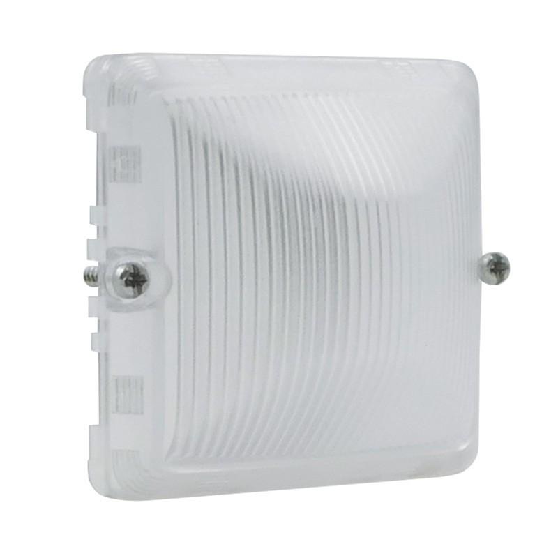 Legrand - Diffuseur étanche pour lampe incolore Plexo composable IP55 - gris et blanc - Réf : 069588