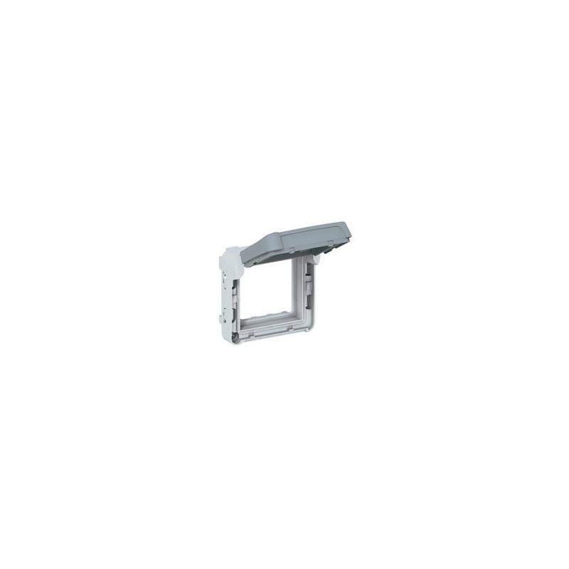 Legrand - Adapateur Prog Plexo composable pour fonction Mosaic - volet fumé verrouillable - Réf : 069579