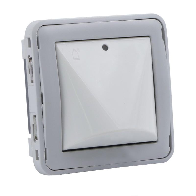 Legrand - Détecteur de gaz Prog Plexo composable gris/blanc - Réf : 069592