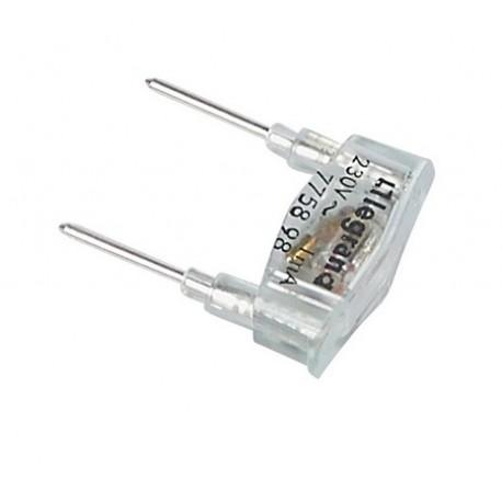 Legrand - Lampe de rechange Plexo orange 230V 1mA - Réf : 069498