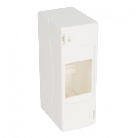 Legrand - Coffret cache-bornes - 2 modules - blanc RAL 9010 - Réf : 001302