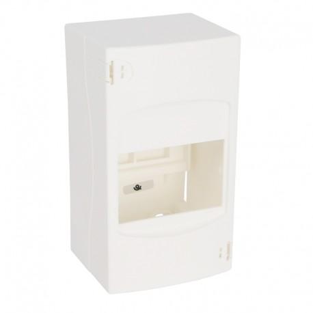 Legrand - Coffret cache-bornes - 4 modules - blanc RAL 9010 - Réf : 001304