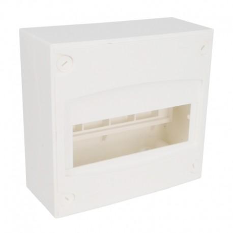Legrand - Coffret mini - 8/9 modules - blanc RAL 9010 - Réf : 001308