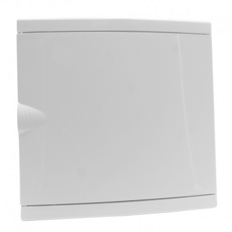 Legrand - Coffret mini encastré - porte isolante blanc RAL 9010 - 1 rang - 6+2 modules - Réf : 001410