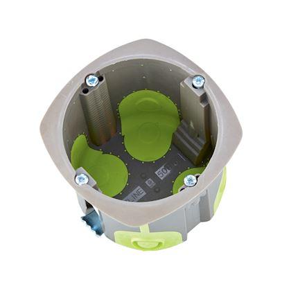 Boîte simple d\'appareillage R\'Box D= 67 mm 1 poste profondeur 60 mm