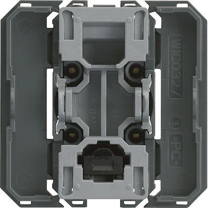 HAGER Interrupteur va&vient gallery InterBP avec neutre 2 modules WXF003