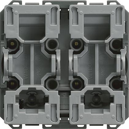 HAGER Interrupteur pour volet roulant gallery inverseur 2 modules WXF300