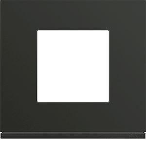 HAGER Plaque gallery plastique peint 1 poste night WXP0202