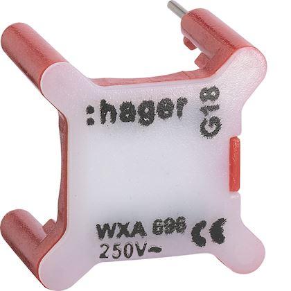 HAGER Voyant pour interrupteur gallery 230V rouge WXA691
