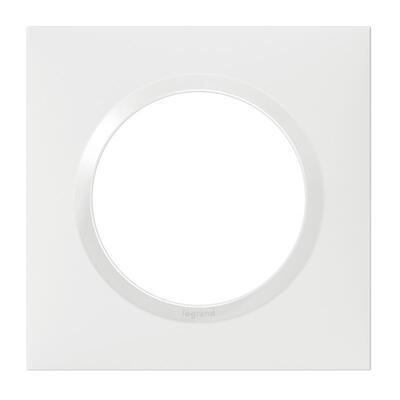 LEGRAND PLAQUE CARRÉE 1 POSTE DOOXIE - 600801