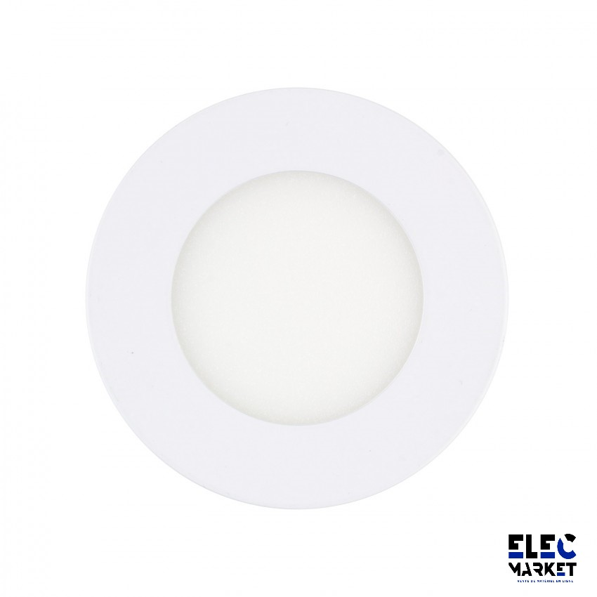 DALLE LED RONDE EXTRA-PLATE 3W