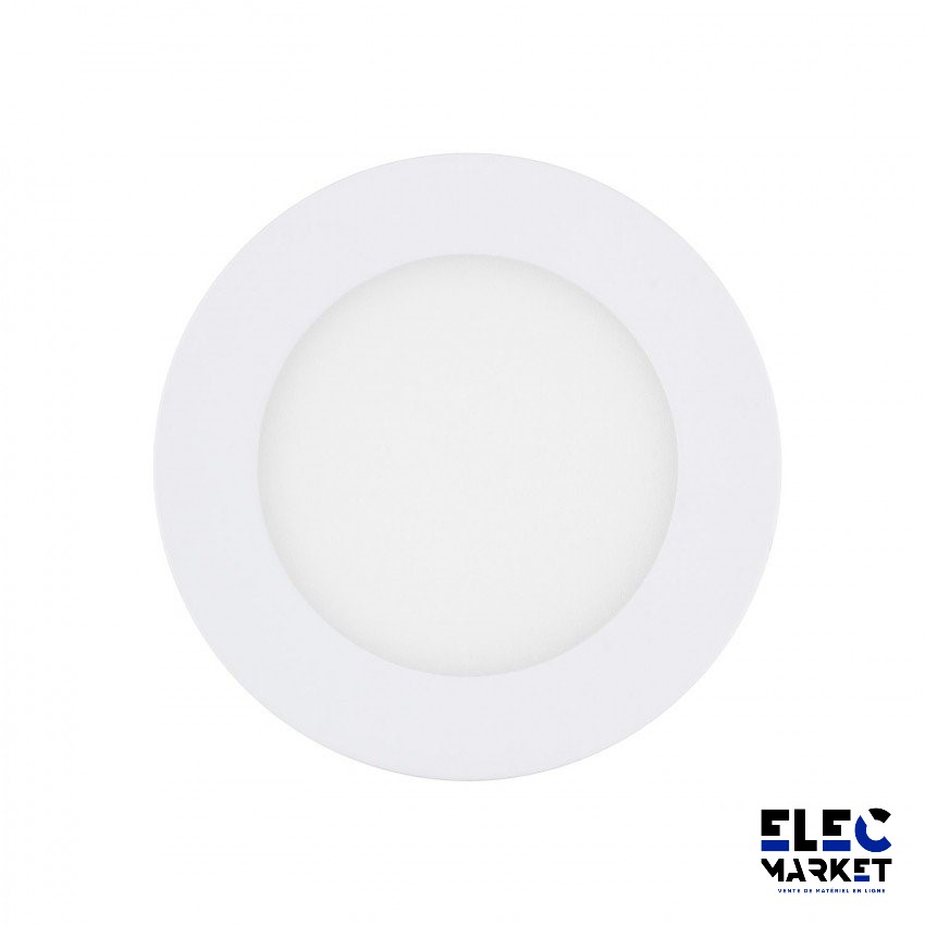 DALLE LED RONDE EXTRA-PLATE 6W