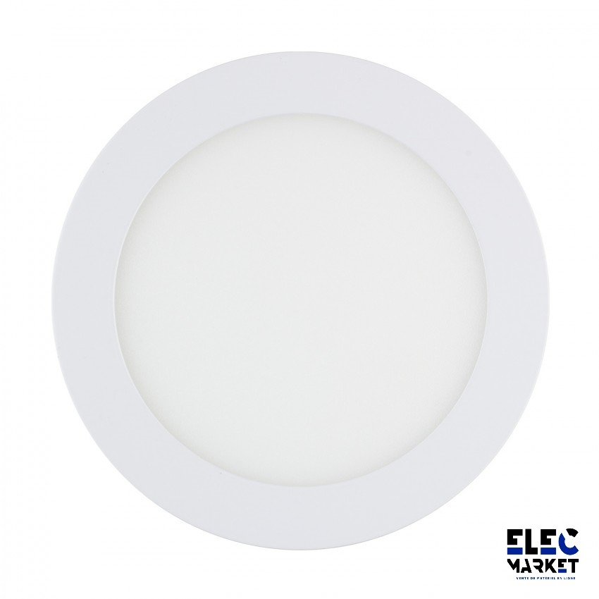 DALLE LED RONDE EXTRA-PLATE 9W