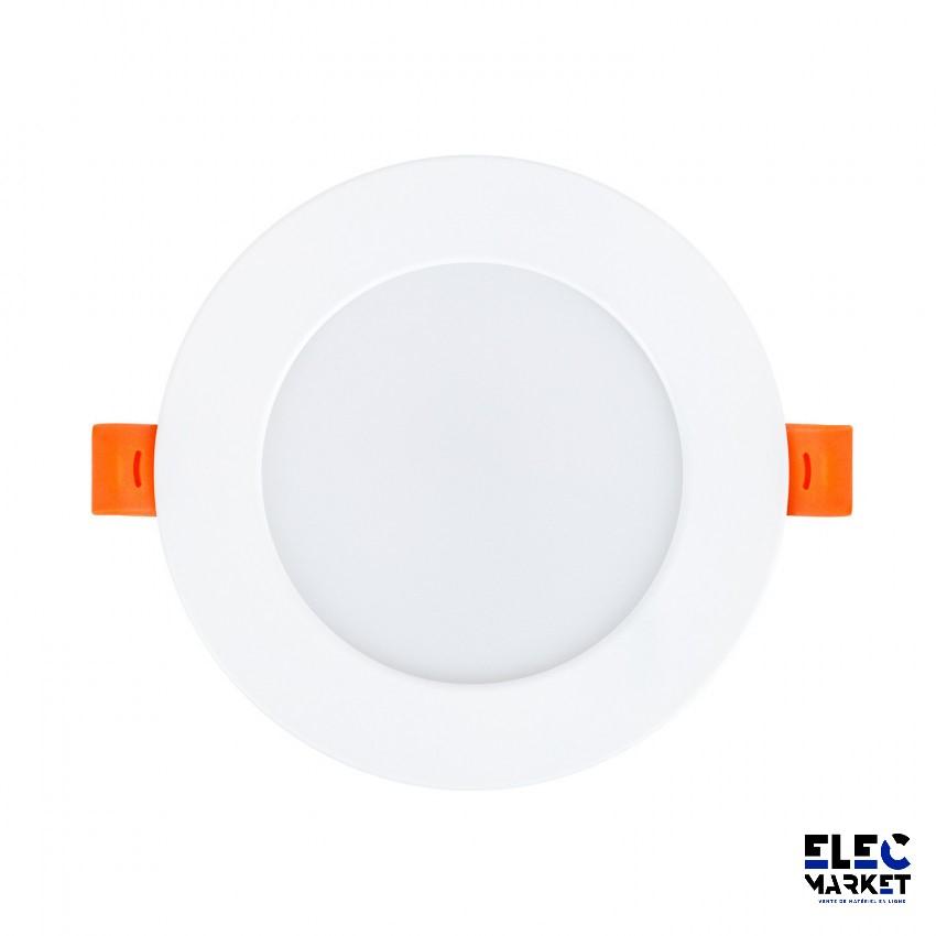 DALLE LED RONDE SLIM 3W BLANC