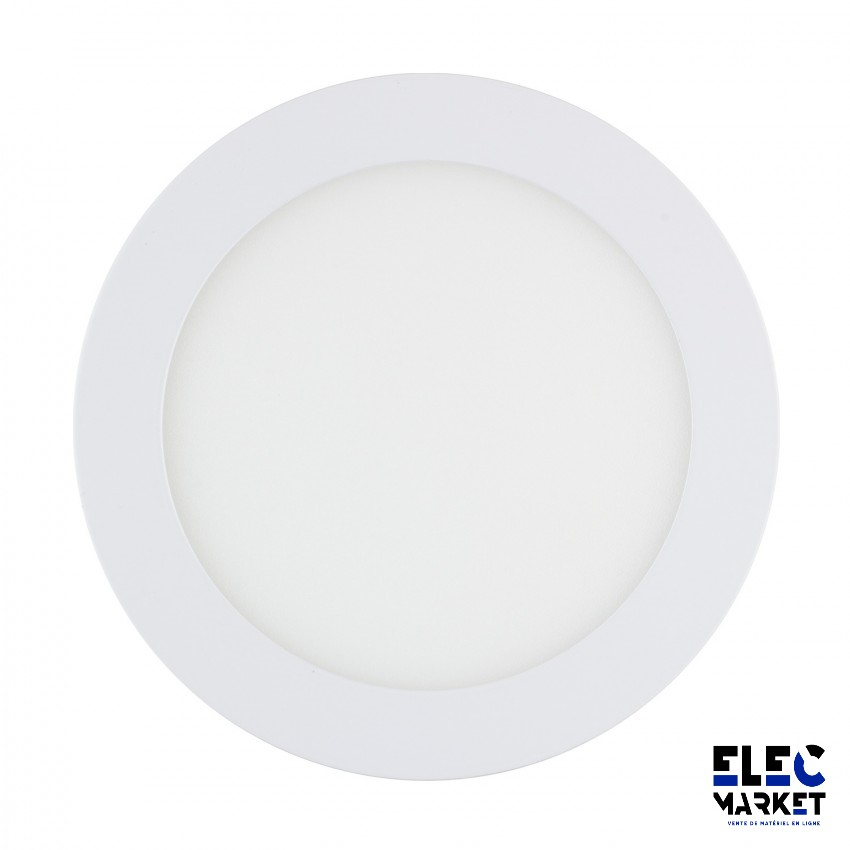 DALLE LED RONDE EXTRA-PLATE 12W