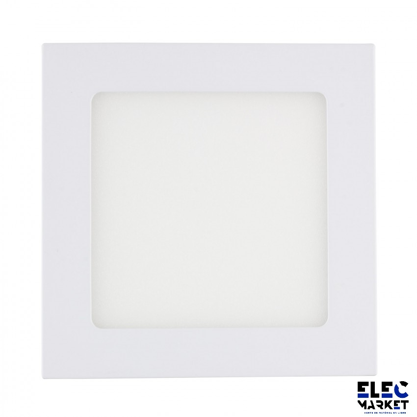 DALLE LED CARRÉE EXTRA-PLATE 18W