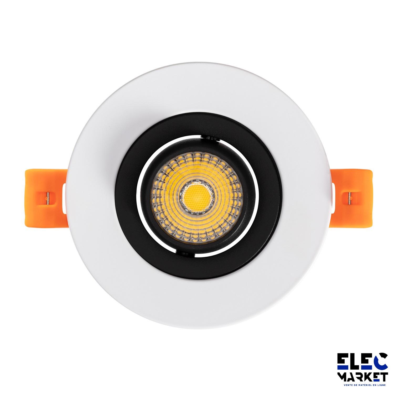 SPOT LED COB ORIENTABLE 360° 7W