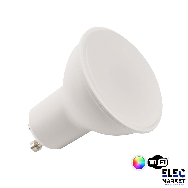 AMPOULE LED SMART WIFI GU10 DIMMABLE RGBW 4W
