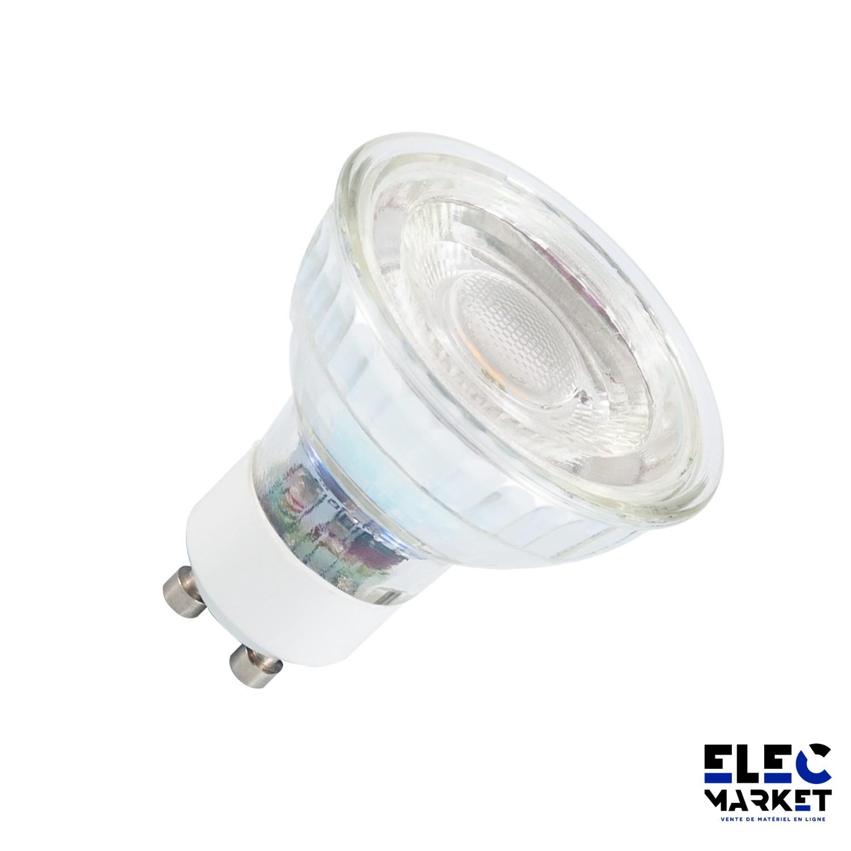 AMPOULE LED GU10 CRISTAL 38° 7W
