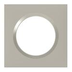 PLAQUE DE FINITON 1 POSTE PLUME LEGRAND DOOXIE - 600821