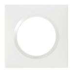PLAQUE DE FINITON 1 POSTE BLANC LEGRAND DOOXIE - 600801
