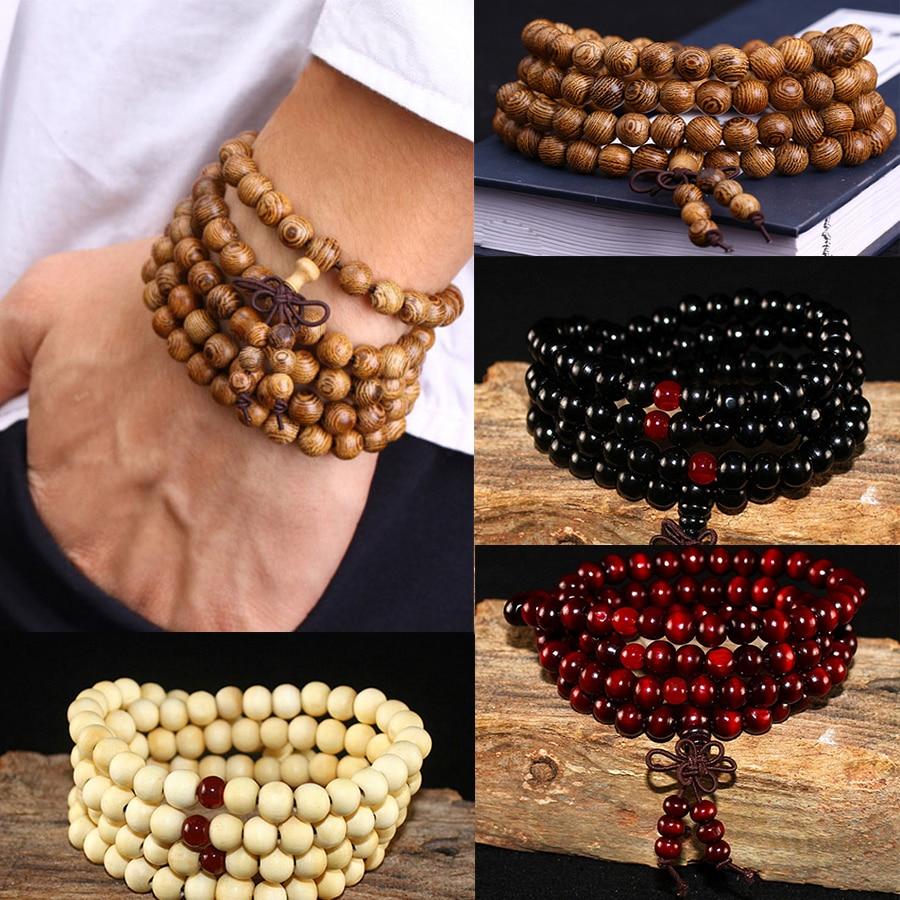 Bracelet perle Bouddhiste Mixte