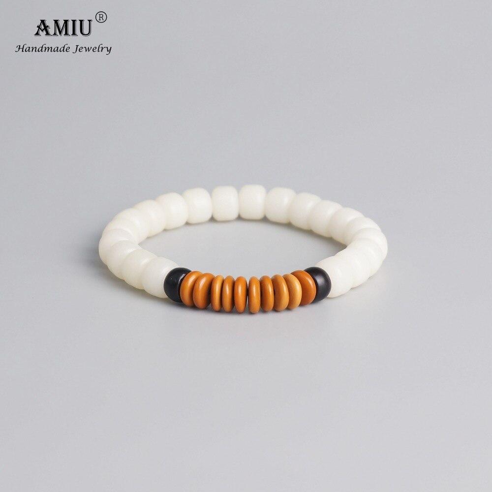 Bracelet mixte en perles de coco