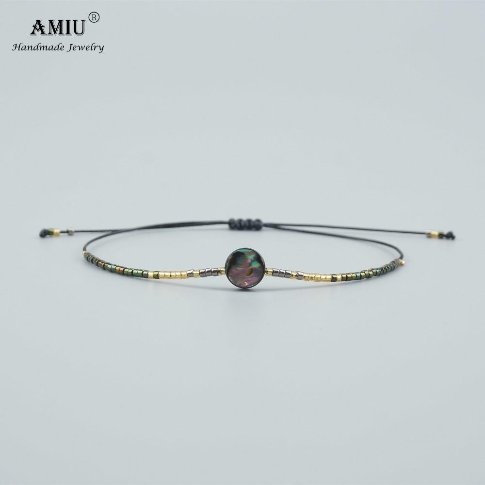 Bracelet ORMEAU en perle et nacre