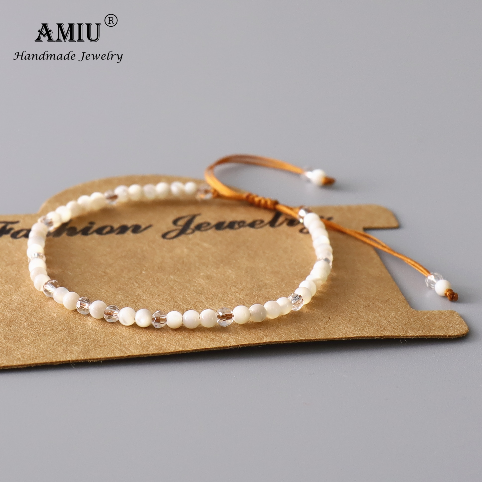 AMIU-Bracelet-en-perles-blanches-m-re-de-perles-bijou-ajustable-en-cristal-naturel-boh-me