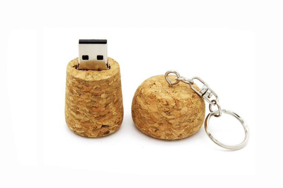 Bouchon en liège Clé USB