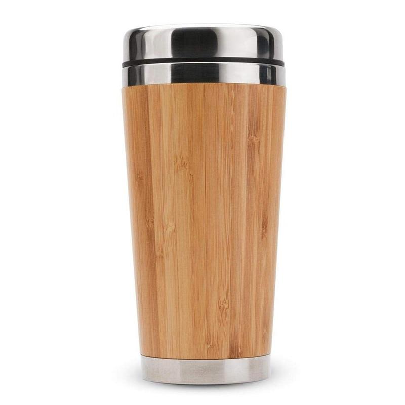 Mug Inox et bambou