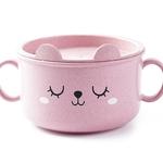 Vaisselle-en-bambou-dessin-anim-pour-enfants-Mignon-vaisselle-pour-enfants-set-de-table-bol-d