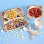 Imebaby5-ensemble-de-vaisselle-en-bambou-naturel-Bol-en-bambou-vaisselle-d-alimentation-pour-b-b