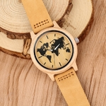 Sculpture-carte-du-monde-en-bois-montre-hommes-mode-bambou-bois-montres-la-main-montre-bracelet
