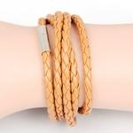Bracelet-en-cuir-enroul-multicouches-pour-hommes-marron-fait-la-main-en-acier-inoxydable-accessoires