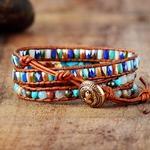 Bracelets-avec-pierres-naturelles-dor-es-en-cuir-Vintage-pour-filles-de-vacances-la-plage-haut