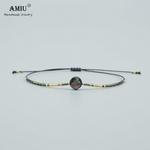 AMIU-Bracelets-en-perles-d-ormeau-naturel-faits-la-main-pour-femmes-et-hommes-corde-graines