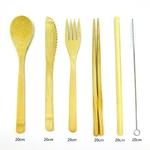 Ensemble-de-couverts-en-bambou-durables-Ustensiles-de-voyage-en-bambou-couteau-fourchette-cuill-re-pailles
