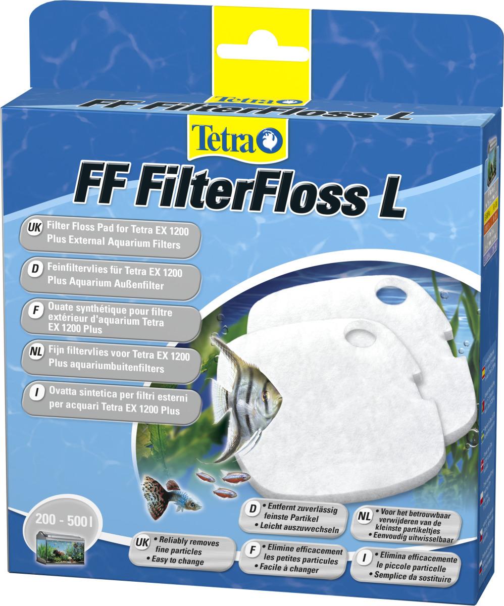 TETRA FF FilterFloss L lot de 2 ouates filtrantes pour filtre externe Tetra EX 1200 et 1200 Plus