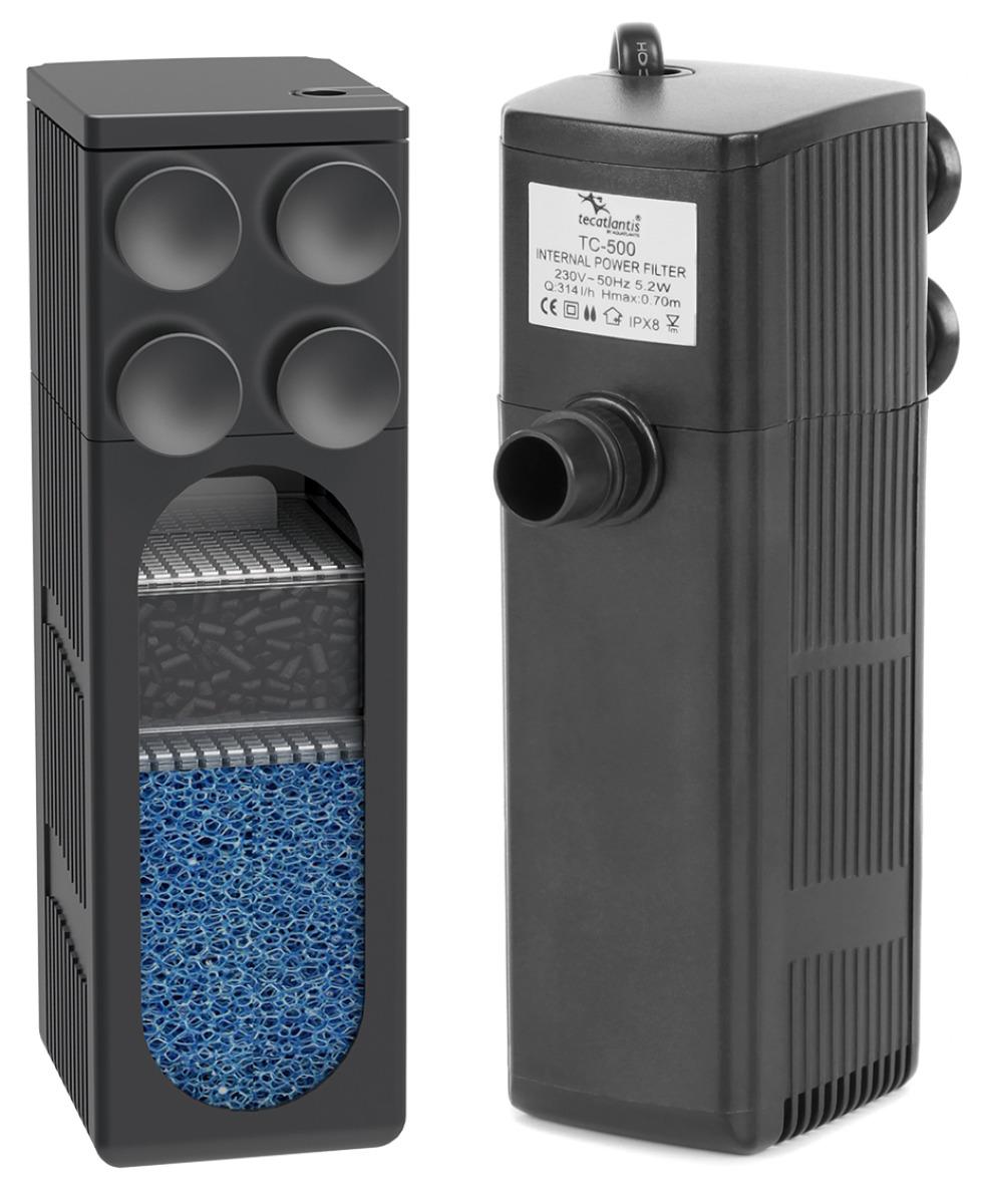 AQUATLANTIS TC500 filtre interne 600 L/h pour aquarium jusqu\'à 120 L