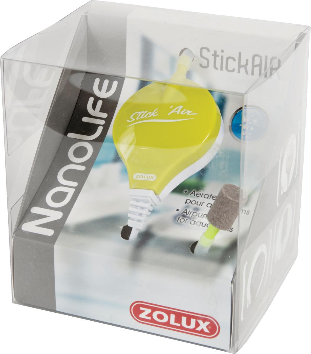 Zolux nanolife stickair vert mini pompe air 15 l h pour for Aquarium zolux