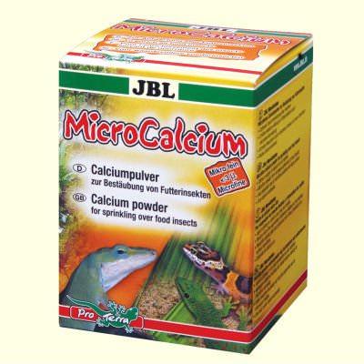JBL MicroCalcium 100 gr poudre de calcium à saupoudrer sur les insectes.