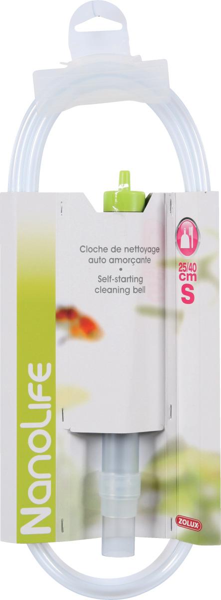 ZOLUX Nanolife Cloche extensible de 25 à 40 cm pour changements d\'eau et nettoyage du gravier