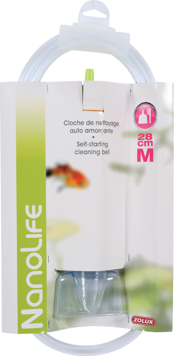 ZOLUX Nanolife Cloche 45 cm pour changements d\'eau et nettoyage du gravier