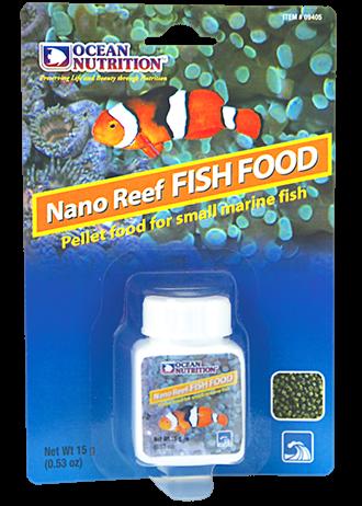 OCEAN NUTRITION Nano Reef Poissons 15 gr. nourriture complète en granulés de 0,95 mm pour petits poissons d\'eau de mer